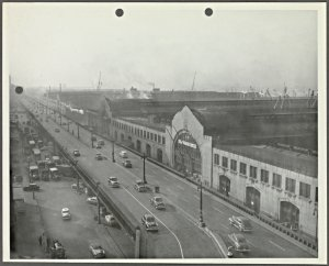 [Pier 59, North River. View from Street]