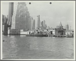 [Pier 13, East River, Side View]