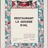 Restaurant La Gousse D'Ail (RESTAURANT)