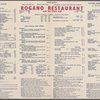 Rogano Restaurant & Sea Food Bar (RESTAURANT)