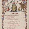 Silvermine Tavern wine list