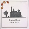 Ramadhan snack menu held by Sheraton at Sheraton (HOTEL)