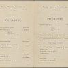Program from Mendelssohn Hall Two Piano Recitals: Tuesday Afternoon, November 15, at 2:30; Tuesday Afternoon, November 22, at 2:30