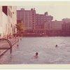 Exterior location: public swimming pool