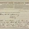 Correspondence with Samuel J. Tilden