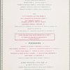 Daily menu held by Lassere at restaurant Lassere, France (FOREIGN,RESTAURANT)