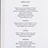 Daily menu, Le Louis D'or at Hotel de La Tremoille