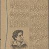 Schiller in seinen Jugendjahren. (Bildnis von John Friedrich August Tischbein.)