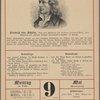 """Friedrich von Schiller. Nach einer Zeichnung von Johann Friedrich Bolt, 1804. Abbildung aus """"Mayers Grossem Konversations-Lexikon,"""" 6. Auflage."""