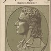 [Cover, with profile of Friedrich Schiller.]