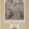 Schillers Apotheose. Gelegentlich der Hundertjährigen Schiller=Feier 1859 von Bonaventura Genelli. Original im Besitz der Frau Dr. Merian=Genast in Weimar ; Schillers Adelswappen.