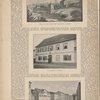 Schiller-Häuser. Schillers Haus und Garten in Jena. Handzeichnung von Goethe ; Das Schiller=Haus in Lauchstädt ; Das Schiller=Haus in Weimar, das der Dichter vom 30. April 1802 bis zu seinem Tode bewohnte.