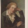 Friedrich Schiller. Gemalt 1786 von Anton Graff. (Im Körner=Museum zu Dresden.)