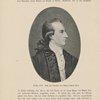 Goethe 1779. Nach dem Gemälde von Georg Oswald May.