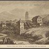 Schillers Haus und garten zu Jena, gezeichnet 1810 von Goethe.