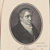 Friedrich von Schlegel. Gezeichnet von Auguste von Buttlar, gestoachen von J. Armann.--Auschnitt.