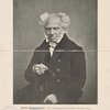 "Arthur Schopenhauer: from a photograph by Jean Schäfer, Frankfurt, 1854. Specimen illustration from ""Das XIX. Jahrhundert in Bildnissen."" Published by Berlin Photographic Company, New York."