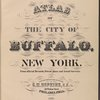 Atlas of the city of Buffalo, New York. From official records, private plans and actual surveys. Surveyed & Published under the direction of G.M. Hopkins, C.E., 302 Walnut St., Philadelphia. 1891.