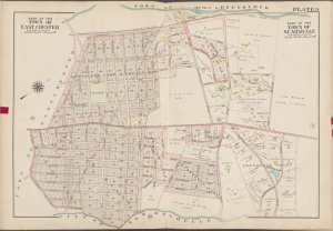 Westchester, V. 1, Double Page Plate No. 9 [Map bounded by Town of Greenburg, Wayside Lane, City of New Rochelle, Town of East Chester]