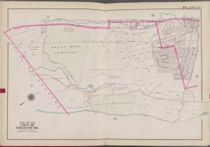 Westchester, V. 2, Double Page Plate No. 13 [Map bounded by Western Ave., Rail Road Ave., Ashford Ave., City of Yonkers]