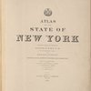 Atlas of the State of New York Prepared under the direction Joseph R. Bien, E.M. Civil and Topographical Engineer from original surveys and various local surveys revised and corrected. based on the triangulations of the U.S. Coast and geodetic survey, U.S. geological survey, U.S. lake survey, and the N.Y. State survey. Published by Julius Bien & Company, New York. 1895