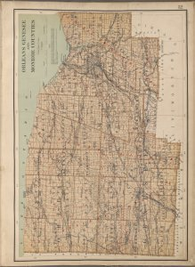 New York State, Plate No. 32 [Map of Orleans, Genesee and Monroe Counties]