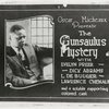 "Lobby card for Oscar Micheaux's 1921 motion picture ""The Gunsaulus Mystery"""