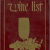 Wine list held by Carl Hoppl's Valley Stream Park Inn.