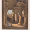 Innere Ansicht der Säulenhalle von Esneh [Isnâ].