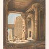 Innere Tempelansicht von Philae.