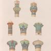 Säulenkapitäle von Philae.