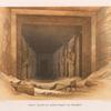 Innere Ansicht des grossen Tempels von Abusimbel [Abû Sunbul].