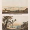 Ansicht von Semneh [Semna] und Kummeh [Kumma], von Westen; Ansicht von Semneh [Semna], von Osten.