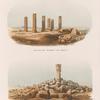 Ansicht des Tempels von Amâra; Ansicht der Ruinen des Tempels von Sedeinga.