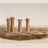 Ansicht der Ruinen von Sesebi.