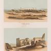 Klosterruine von Wadi Gazâl: Aeussere Ansicht, Innere Ansicht.