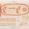 Dynastie IV.  Inschriften auf Bausteinen: a - e  Pyramiden von Giseh [Jîzah];  f -g  Pyramiden von Dahschur [Dahshûr].