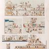 Altes Reich. Dynastie IV. ff.  Pyramiden von Saqara [.Saqqârah], Grab 1.