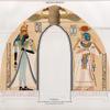 Neues Reich. Theben [Thebes]: Der el Medînet [Dayr al-Madînah Site]: Stuckbild aus  Grab 10. [jetzt im K. Museum zu Berlin.]