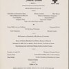 Monday dinner menu, The Rendez-Vous at The Plaza