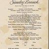 Sunday brunch at Park Lane -- New York, New York (NY) (English, Italian).