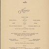 Thursday; Thanksgiving dinner held by The New Yorker at Terrace Restaurant -- New York, New York (NY) (English).