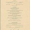 Sunday; St. Patricks Day brunch; dinner at Park Lane; 299 Park Avenue -- New York, New York (NY) (English, French).