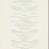 Monday; Christmas dinner at The Westbury; Madison Avenue and 69th Street -- New York, New York (NY) (English).