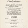 Mother's Day 1961 brunch held by Italian Line at Park Lane -- (English, French).