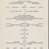 Thursday; Thanksgiving dinner at Hotel New Yorker -- New York, New York (NY) (English).