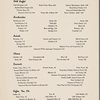 Supper; dinner at The Rendez-Vous of The Plaza; Hilton Hotels -- (English, French).