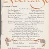 Monday dinner at Persian Room; The Plaza -- New York, New York (NY) (English, French).
