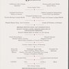 Gramercy Park Hotel Christmas Dinner Menu #101
