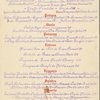 Lunch at Quo Vadis Restaurant; 26 East 63rd Street -- New York, New York (NY) (English, French).